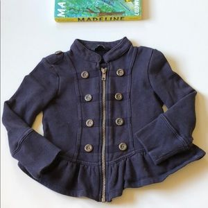 George | Militant Zip Up Blazer | Girls 2-3 Years